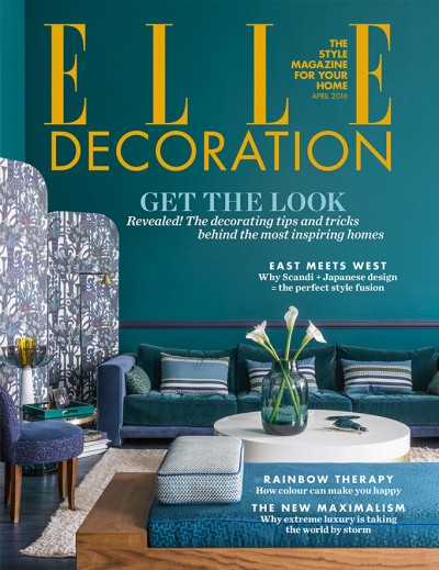 UK <br/>ELLE DECO<br/>Avril 2016