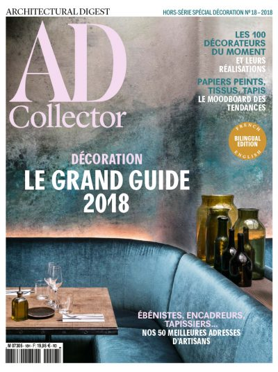 AD Collector<br/>top 100 des décorateurs 2018