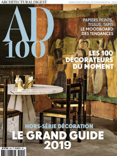 AD Collector </br> Top 100 des décorateurs 2019